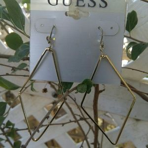 Guess Earrings Color Gold